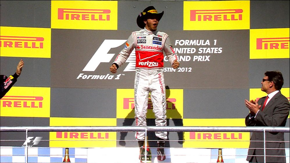 Three years of the United States Grand Prix in Austin