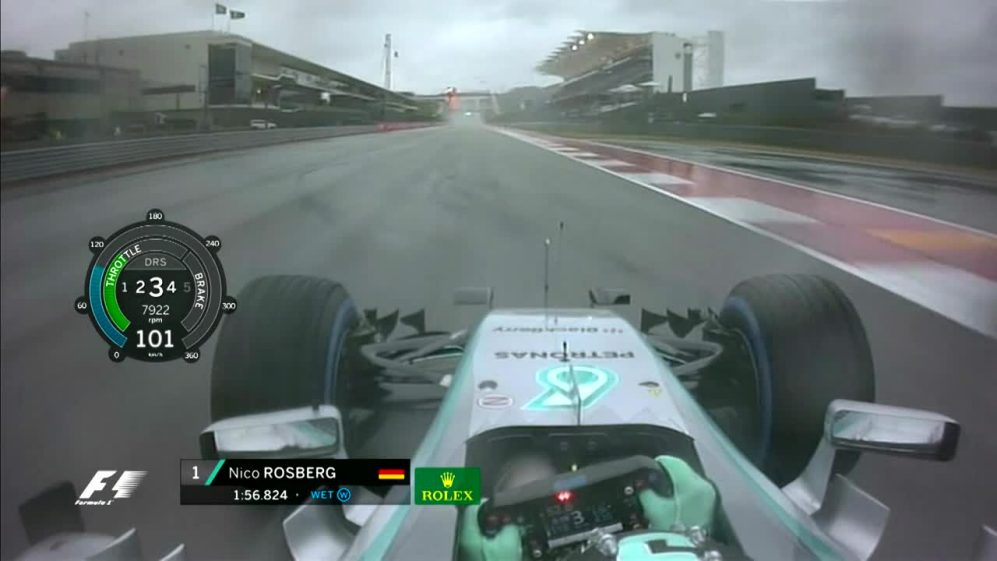 Onboard pole position lap  - USA