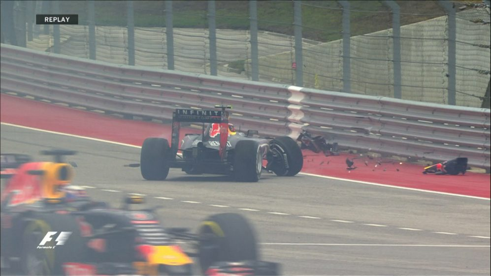 Race: Kvyat crash leaves it all to play for
