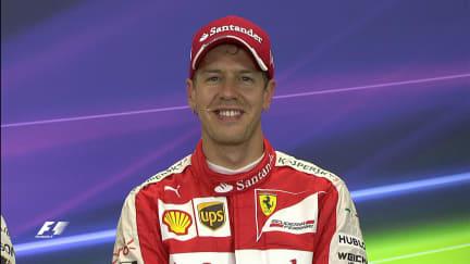 Sebastian Vettel Interview nach dem Qualifying in Mexiko