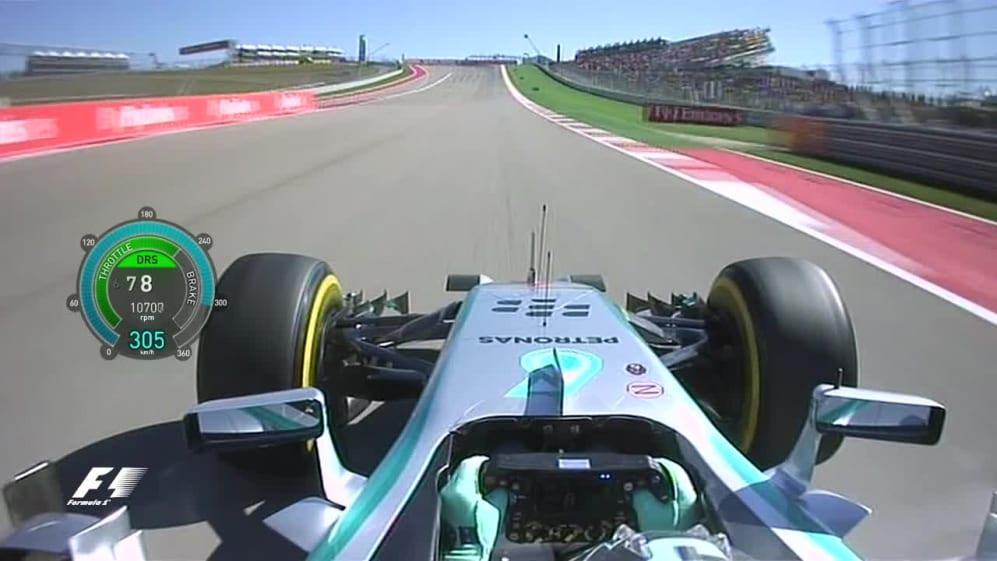 United States 2014 - Nico Rosberg onboard lap