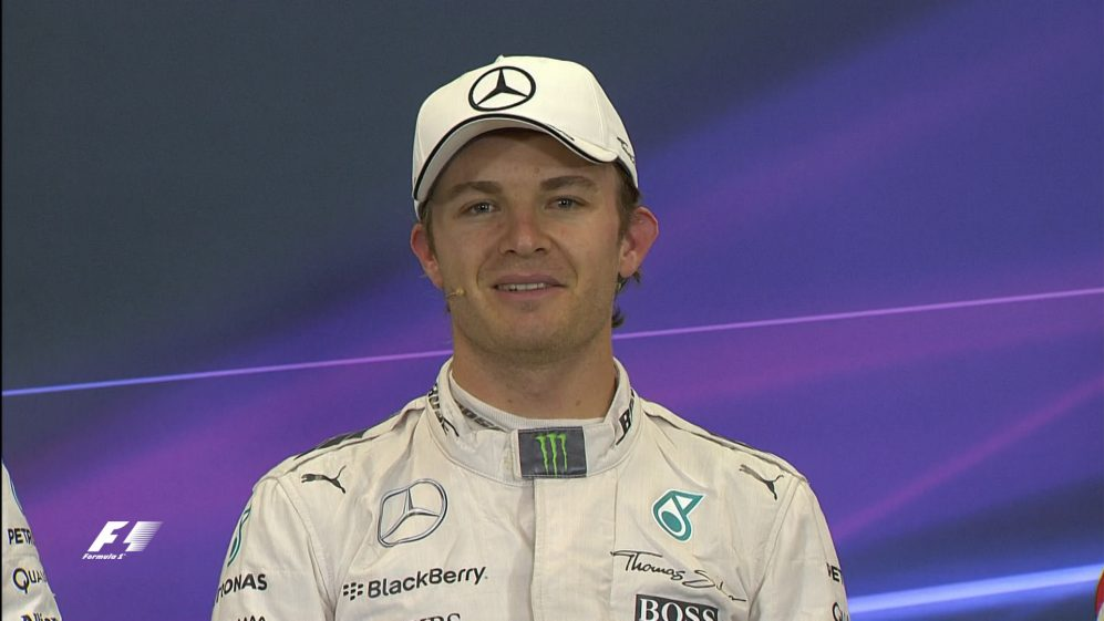 Nico Rosberg Interview nach dem Qualifying in Mexiko
