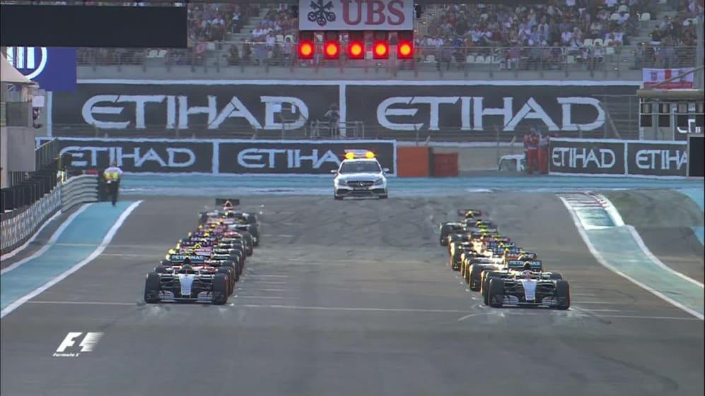 Race highlights - Abu Dhabi '15
