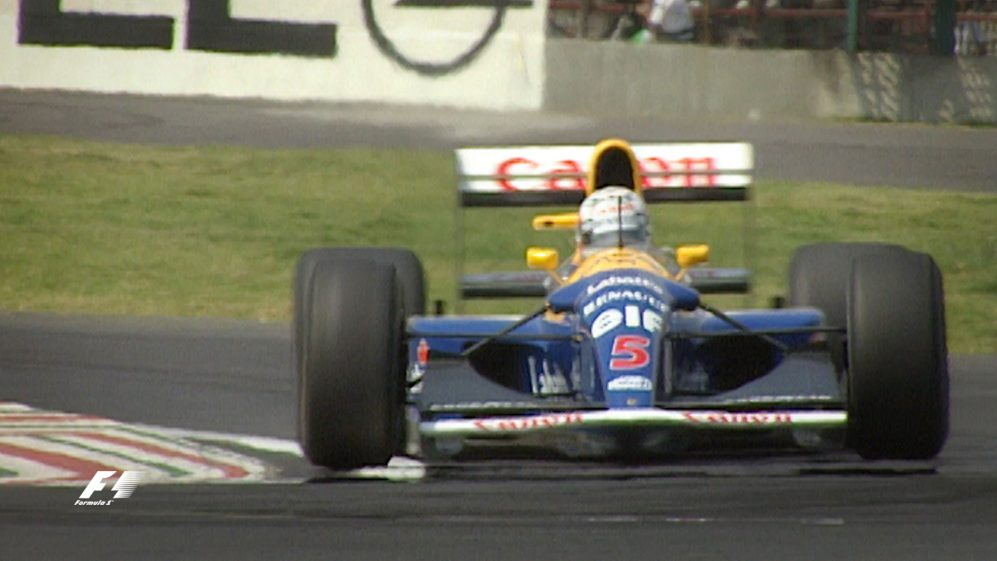 Nigel Mansell: Past and present in Mexico