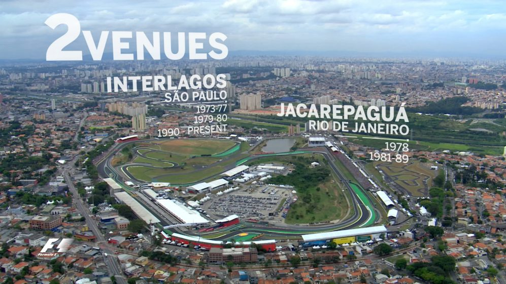 The Brazilian Grand Prix in numbers