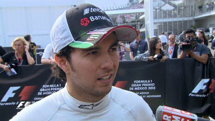 Post-race interviews - Mexico