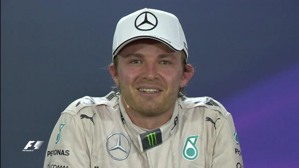 Nico Rosberg Interview nach dem Rennen in Brasilien