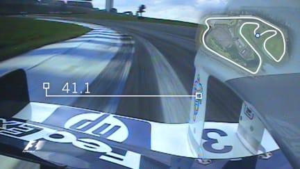 Montoya's lap record at Interlagos