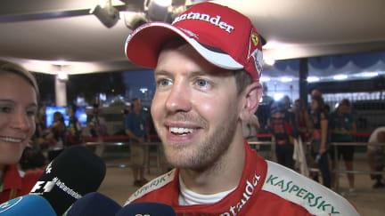 Post-race interviews - Abu Dhabi