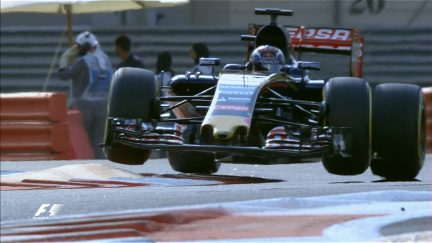 Spins, kerbs and catches - the best action from FP3