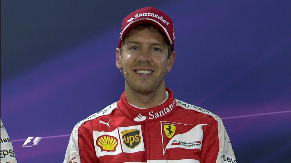 Sebastian Vettel Interview nach dem Qualifying in Brasilien