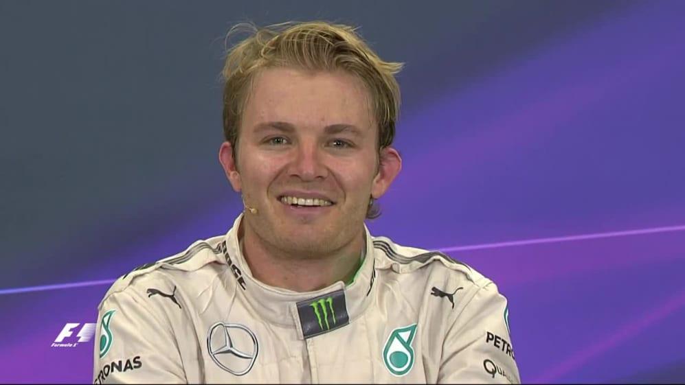 Nico Rosberg Interview nach dem Rennen in Mexiko