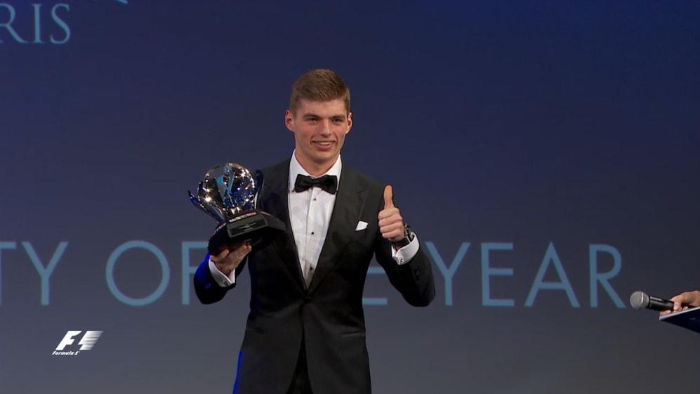 FIA Prize-Giving 2015: Verstappen sweeps up