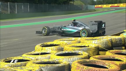 FP2 breaking news: Rosberg's big moment at Blanchimont