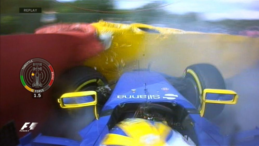 FP2 breaking news - Ericsson hits the wall