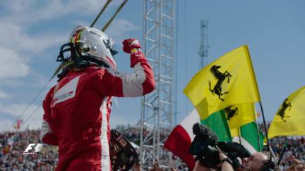 Celebrating Vettel's 150th race start
