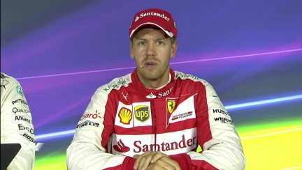 Sebastian Vettel Interview nach dem Qualifying in Italien