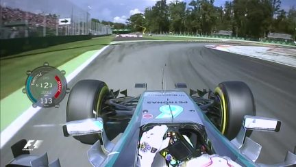 Onboard pole position lap - Italy