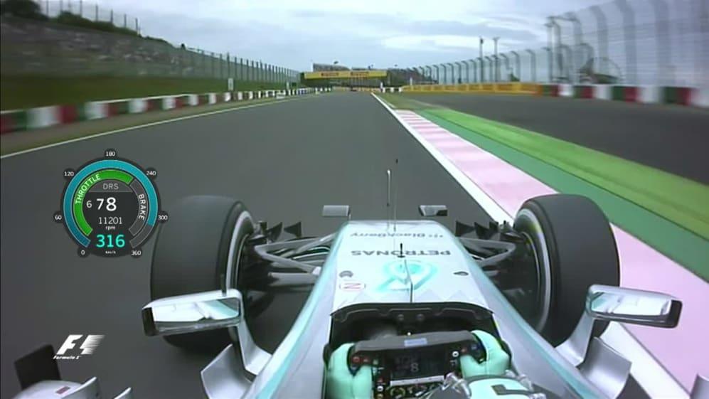 Onboard pole position lap - Japan