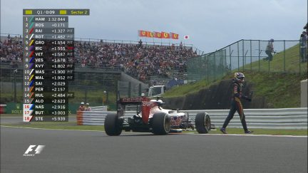 Qualifying breaking news: Verstappen problem brings end to Q1