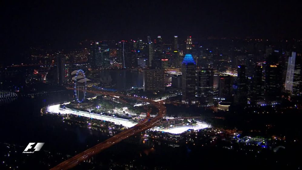 A bird's eye view of Singapore