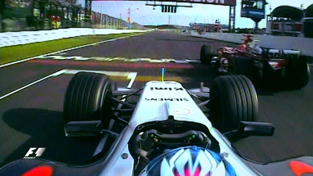 Raikkonen's last gasp victory in Suzuka 2005