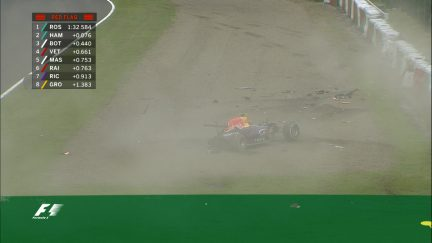 Qualifying breaking news: Kvyat crashes out in Q3