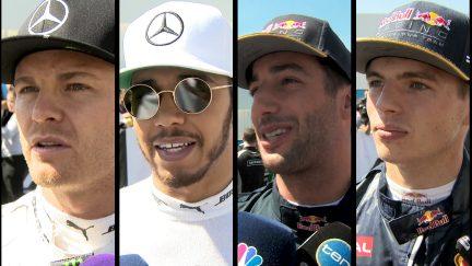 Drivers report back after qualifying in Mexico