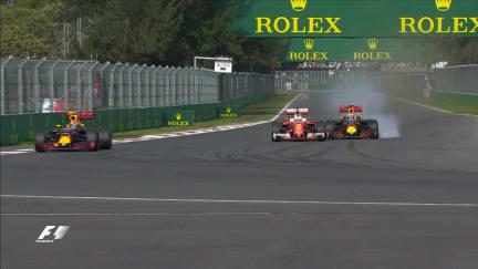 Tensions erupt as Vettel battles Red Bulls in dramatic finish
