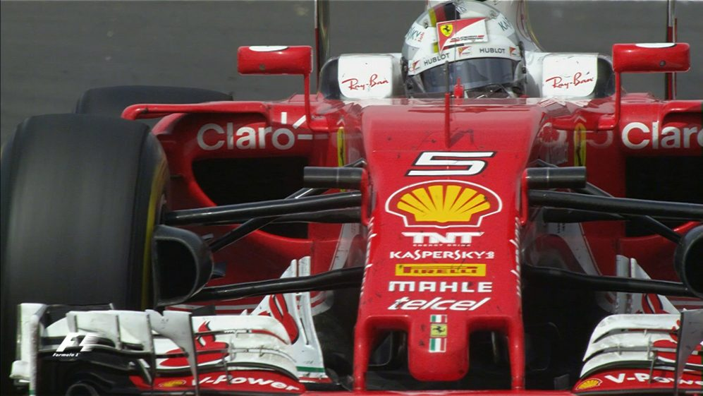 Your Driver of the Day for Mexico - Sebastian Vettel