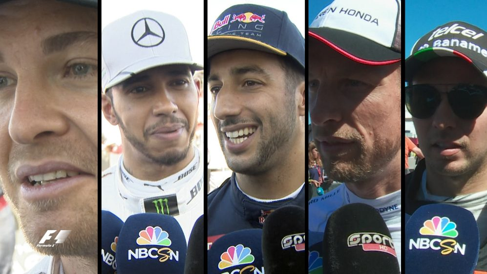 Drivers report back after qualifying in United States