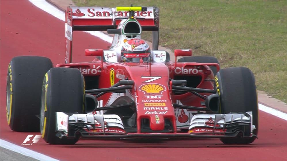 Race: Disastrous pit stop ends in retirement for Raikkonen