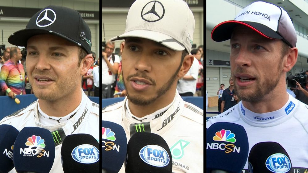 Drivers report back after qualifying in Japan