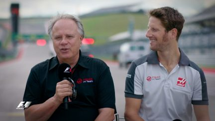 """Haas and Grosjean: """"Not a one year story"""""""