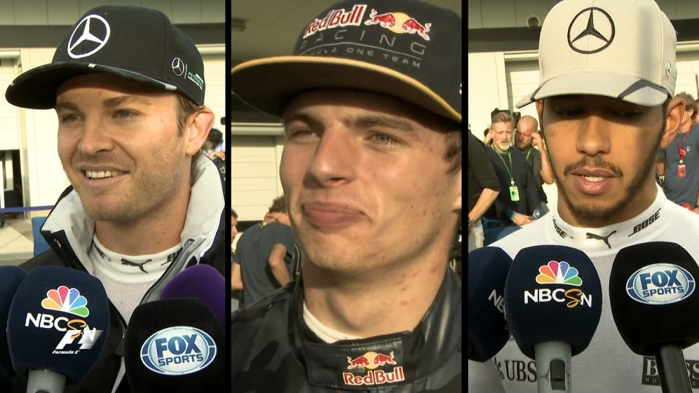 Drivers report back after the race in Japan