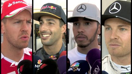 Drivers report back on a dramatic Malaysian race