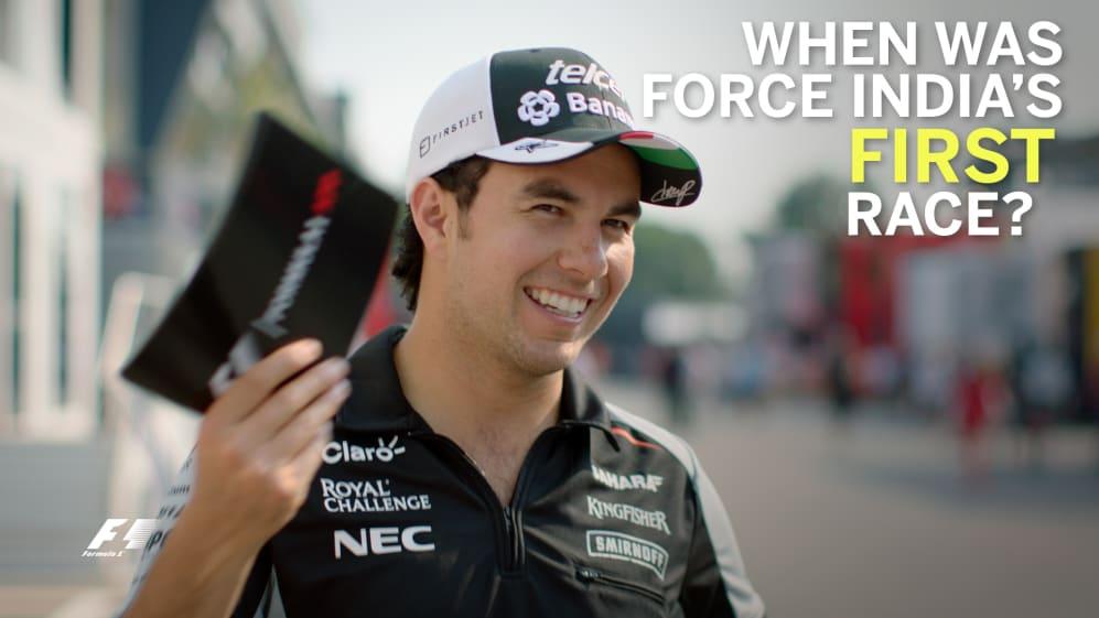 Grill the Grid - Sergio Perez