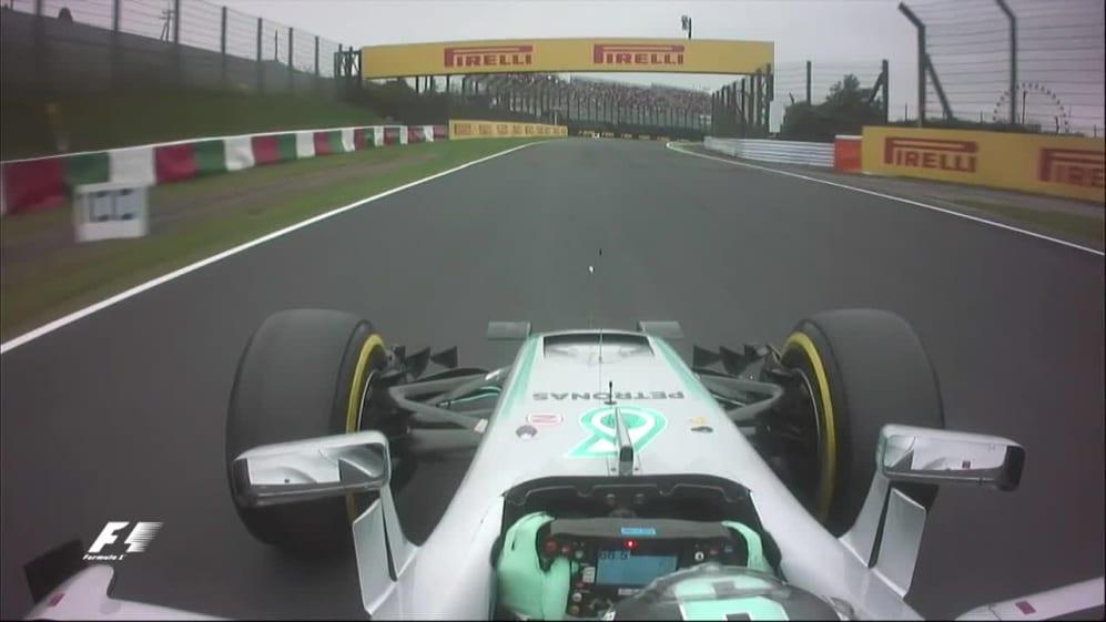Onboard pole position lap - Nico Rosberg, Japan 2016