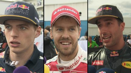 Verstappen, Vettel and Ricciardo's war of words