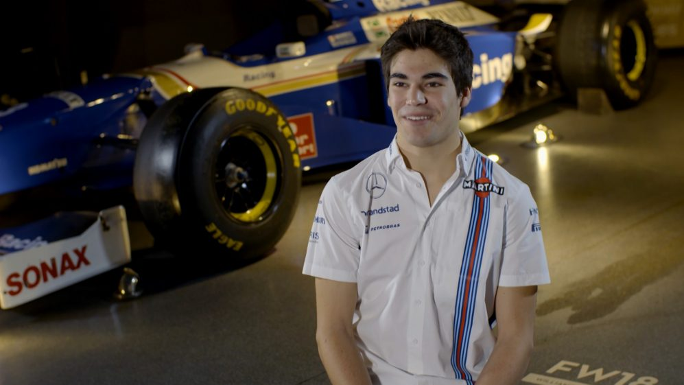 Lance Stroll on signing for Williams for 2017