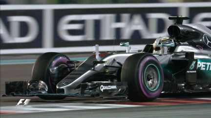 The moment Hamilton snatched pole for the title decider