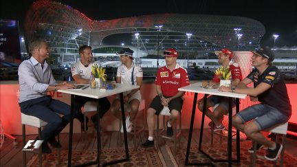 F1 Live in Abu Dhabi - catch up on the conversation
