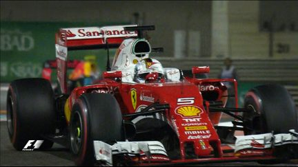 Your Driver of the Day for Abu Dhabi - Sebastian Vettel