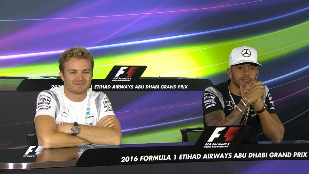 Rosberg and Hamilton on 2016 Abu Dhabi title showdown