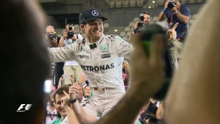 Like father like son: Nico Rosberg makes F1 history
