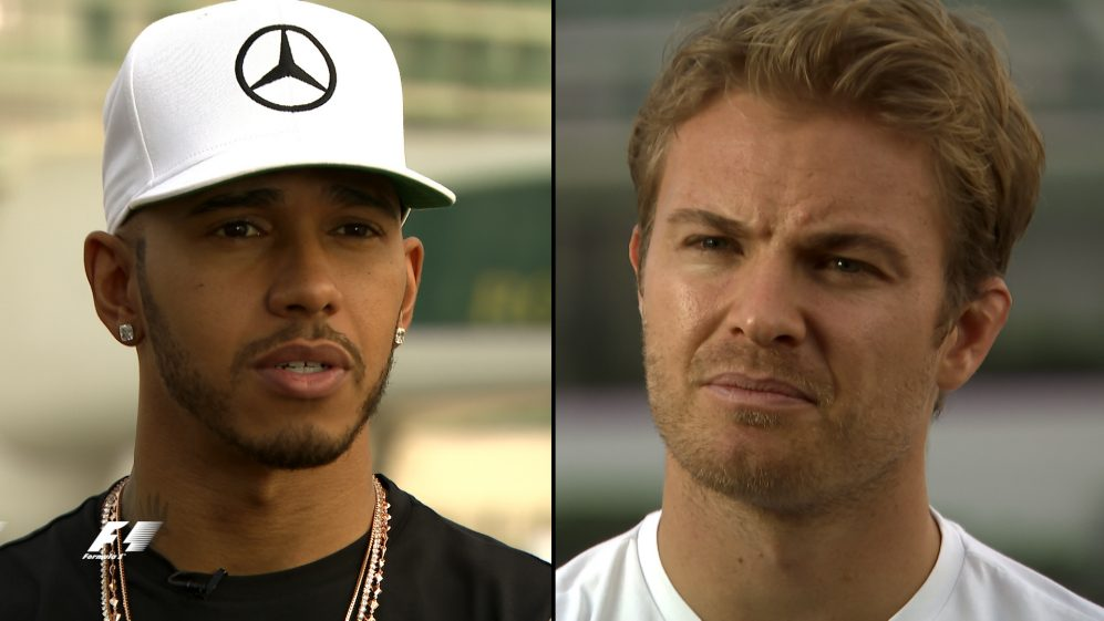 The mentality of a champion: Hamilton and Rosberg