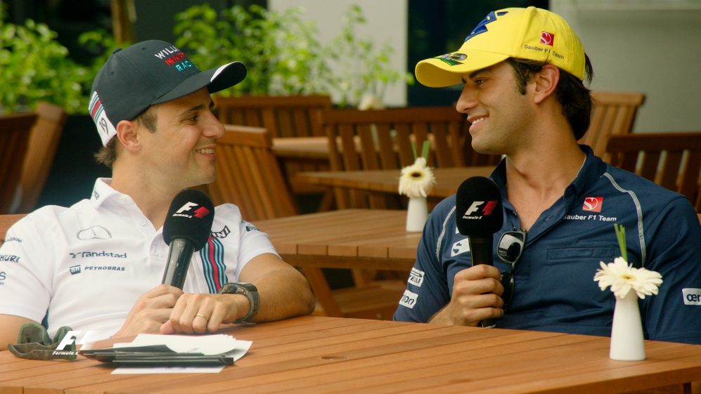 When Felipe met Felipe - Brazil's heroes in conversation