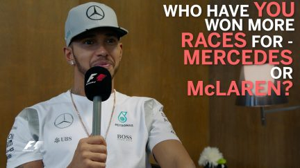 Grill the Grid - Lewis Hamilton