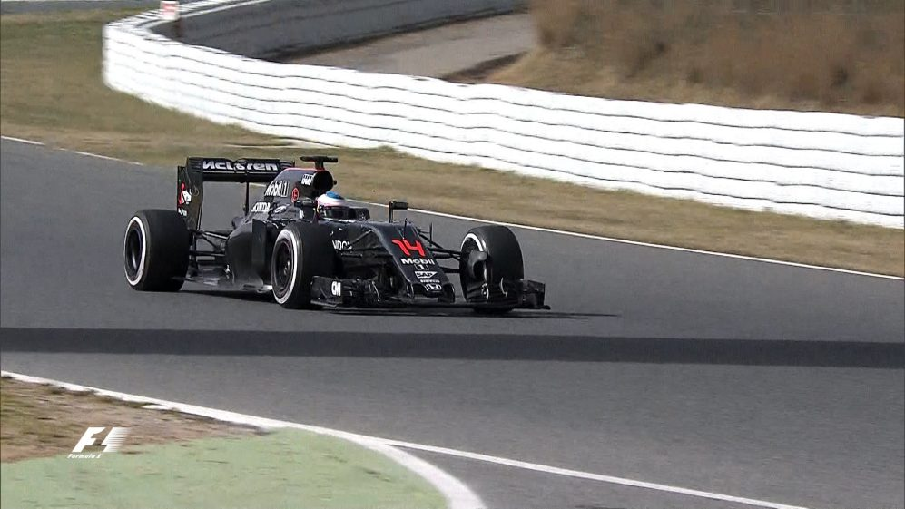 Alonso's first day of testing very different to 2015