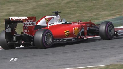 Testing - Ultrasoft Pirellis up the pace on day two